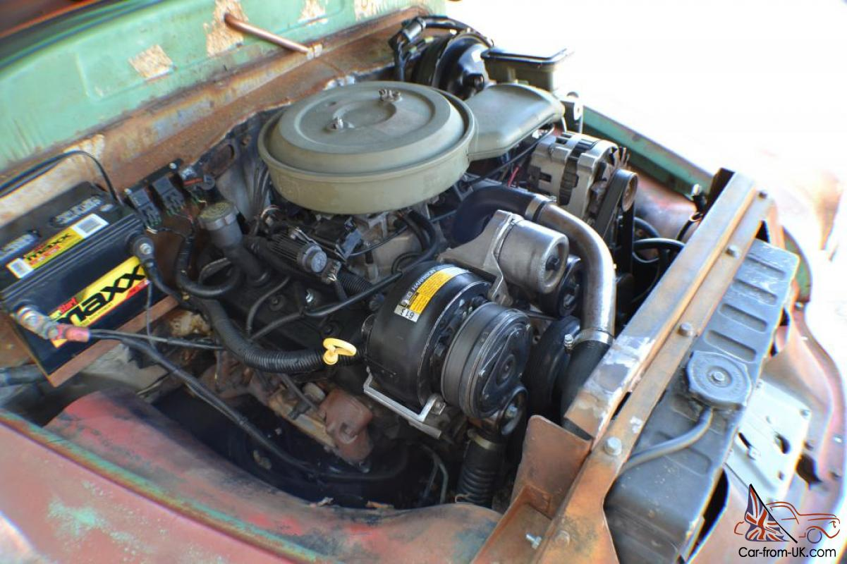 1950 Chevy truck rat rod on \'96 S10 frame. extremely cool and unique ...