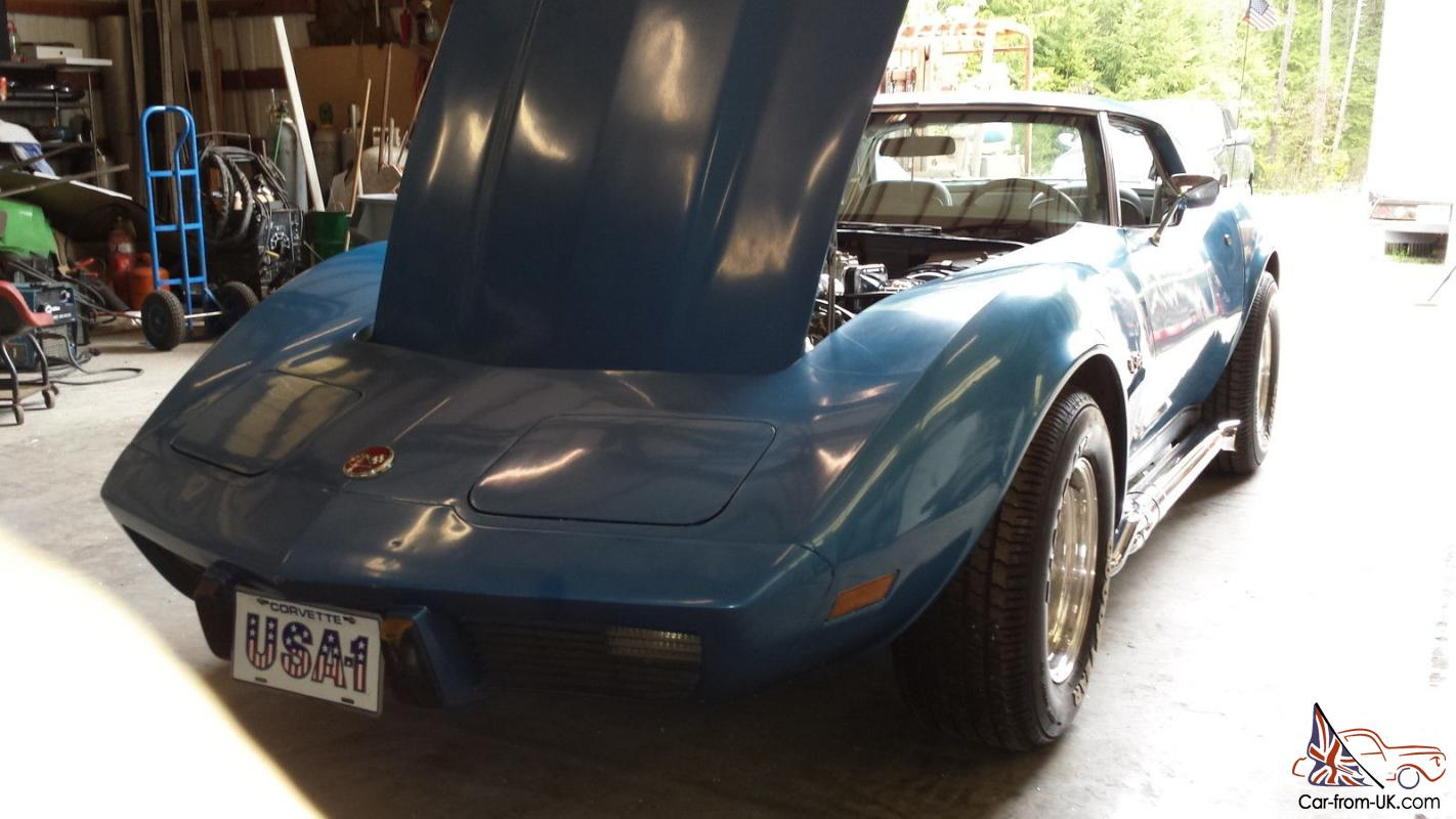 1976 corvette stingray 4 speed t top suppercharged car for sale. Cars Review. Best American Auto & Cars Review