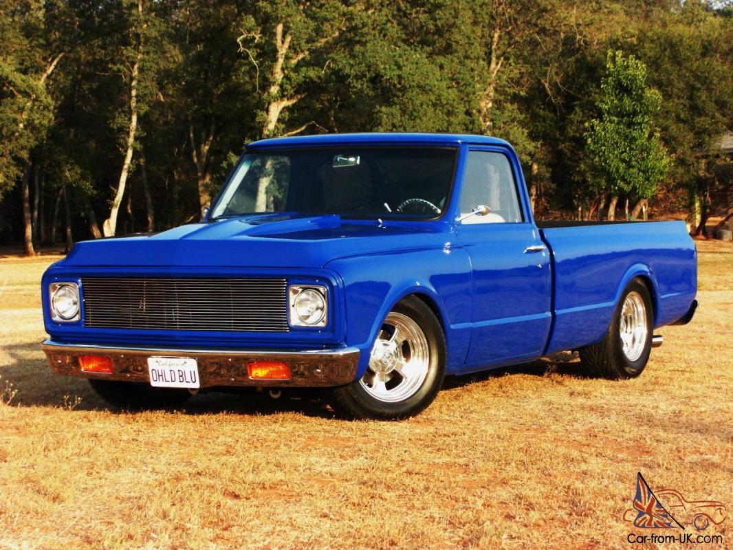 Custom 1972 Chevrolet C10 Pickup 350ci Supercharged