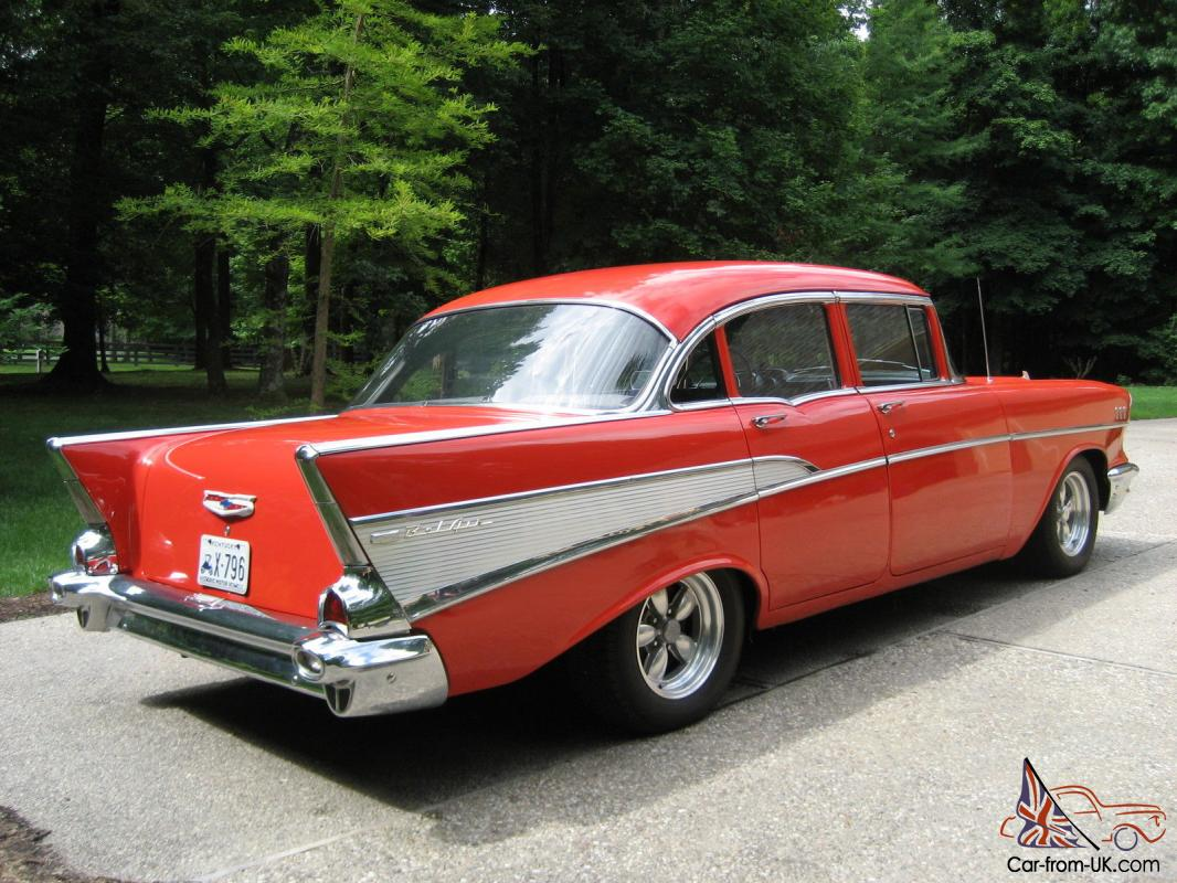 Car That Runs On Air >> 57 Chevy Bel Air - 4 door- sedan