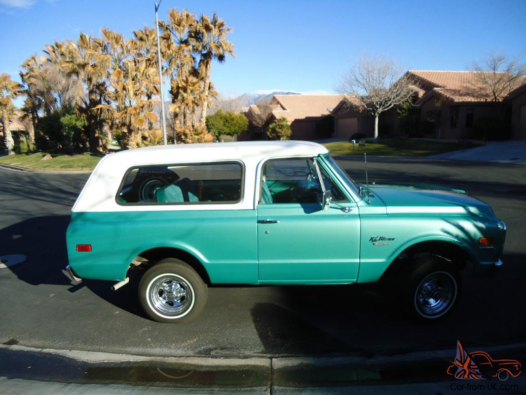 1970 chevy blazer k5 in excellent condition extremely clean one