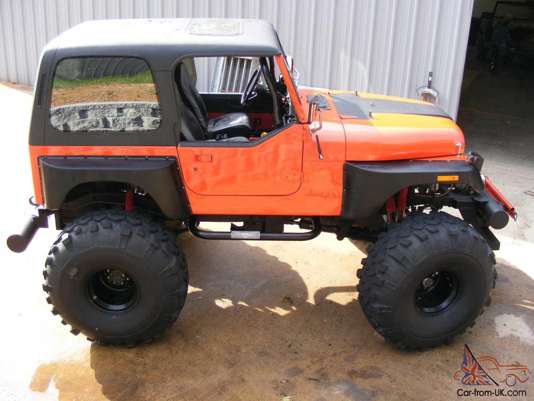 Lifted 1980 Cj7 Jeep Chevy 350 4x4