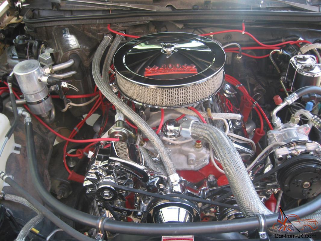 1978 Chevrolet El Camino Classic With Sbc 409 V8 And 9 Ford Rear End Edelbrock 1721 Fuel Pump