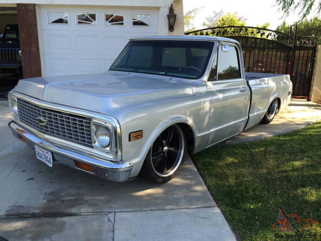 1971 chevrolet c10 swb lays frame. Black Bedroom Furniture Sets. Home Design Ideas
