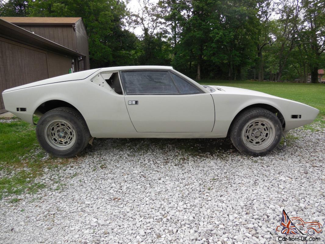 1972 detomaso pantera project car ready for paint reassembly parts included. Black Bedroom Furniture Sets. Home Design Ideas