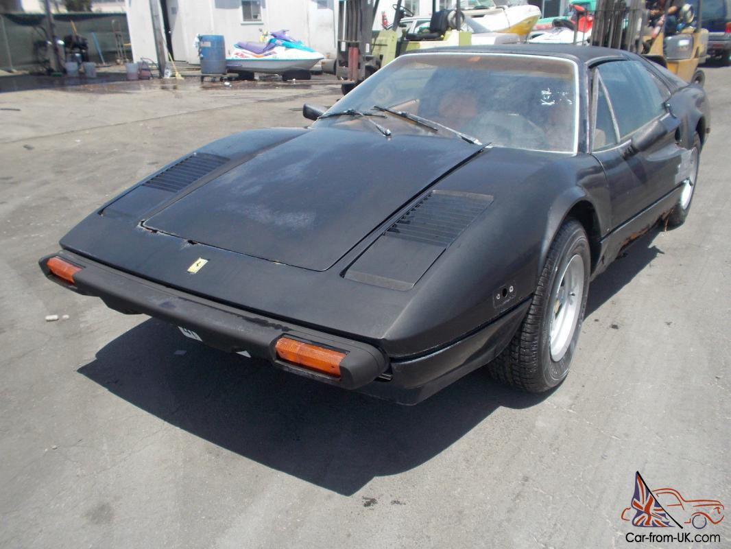 1980 ferrari 308 no reserve. Black Bedroom Furniture Sets. Home Design Ideas