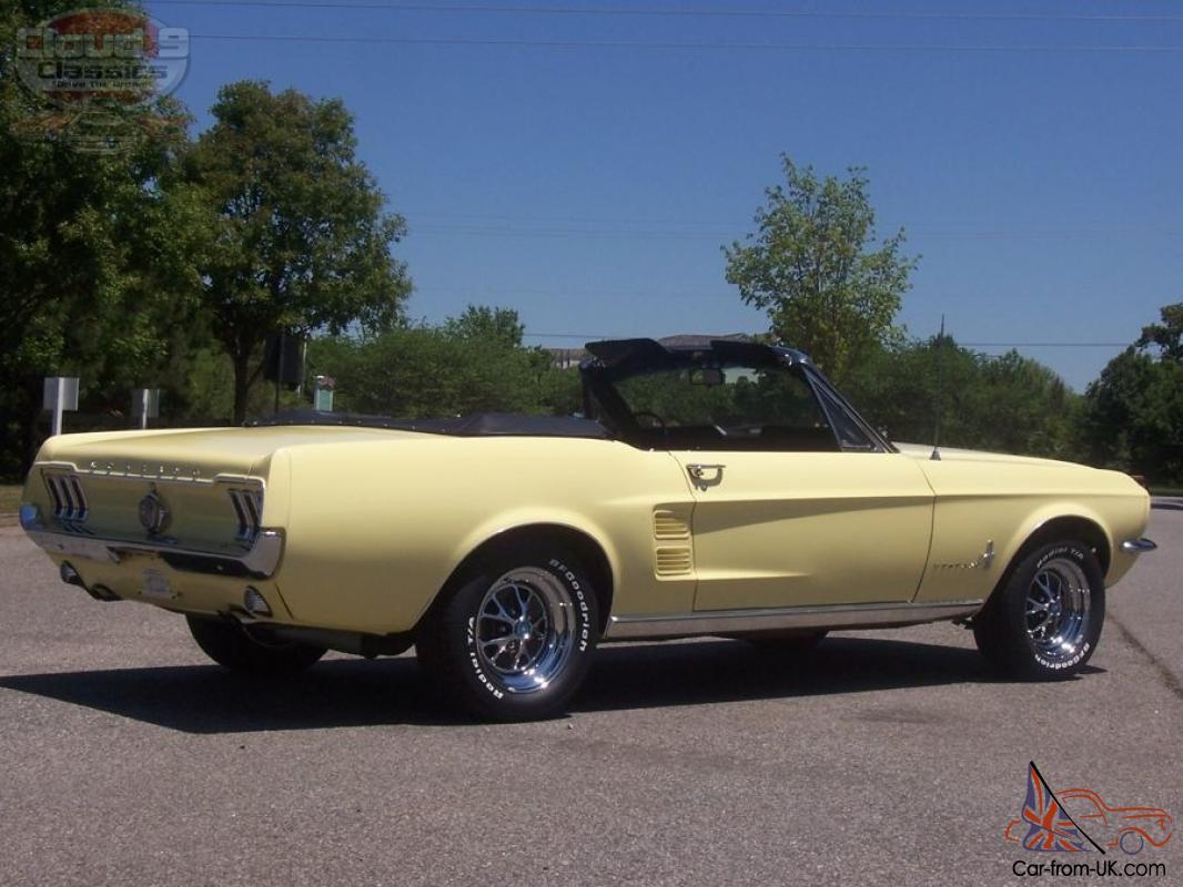 Amazing 1967 mustang convertible rotisserie restored low miles 289 v8 show or go