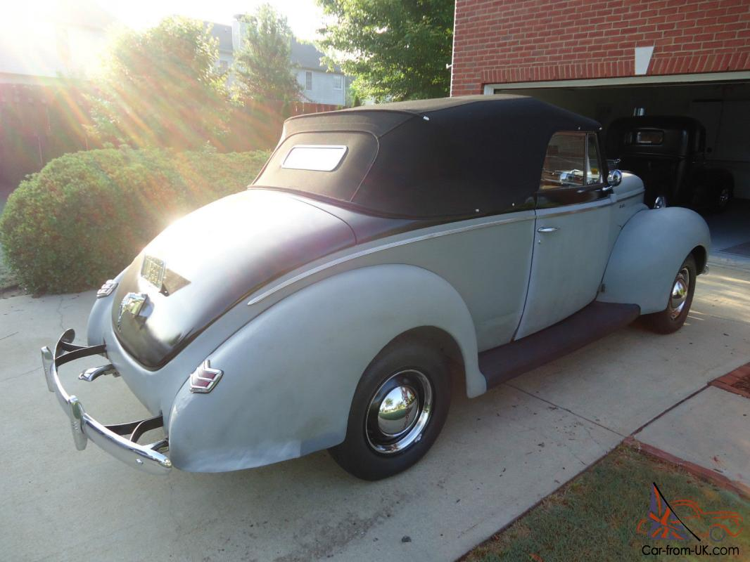 1940 Ford All Steel Body Convertible