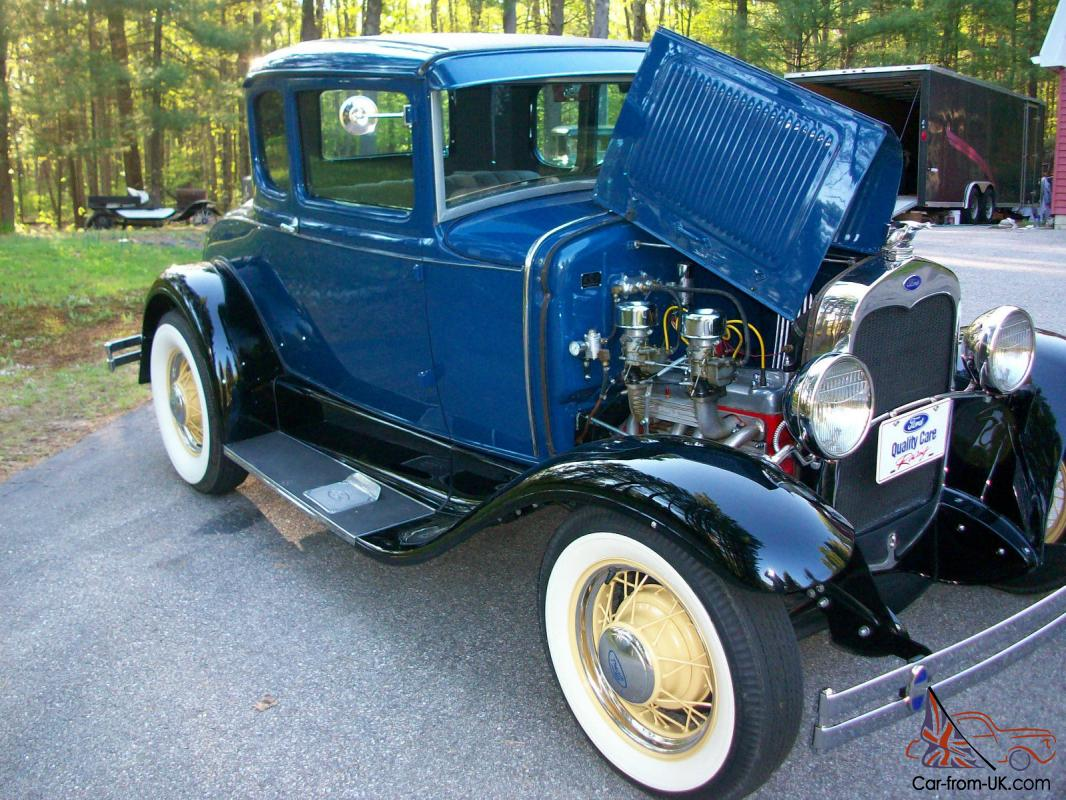 1930 Ford A Coupe Old School Hot Rod