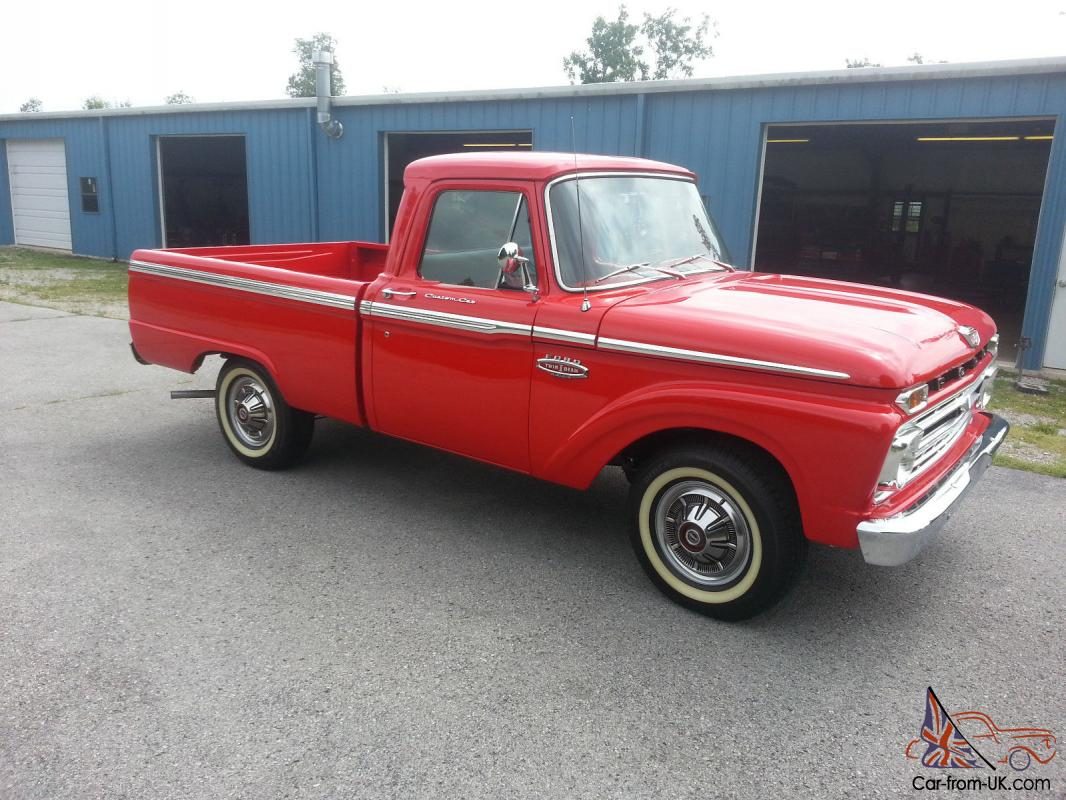 1966 ford truck Ford motor auto sales
