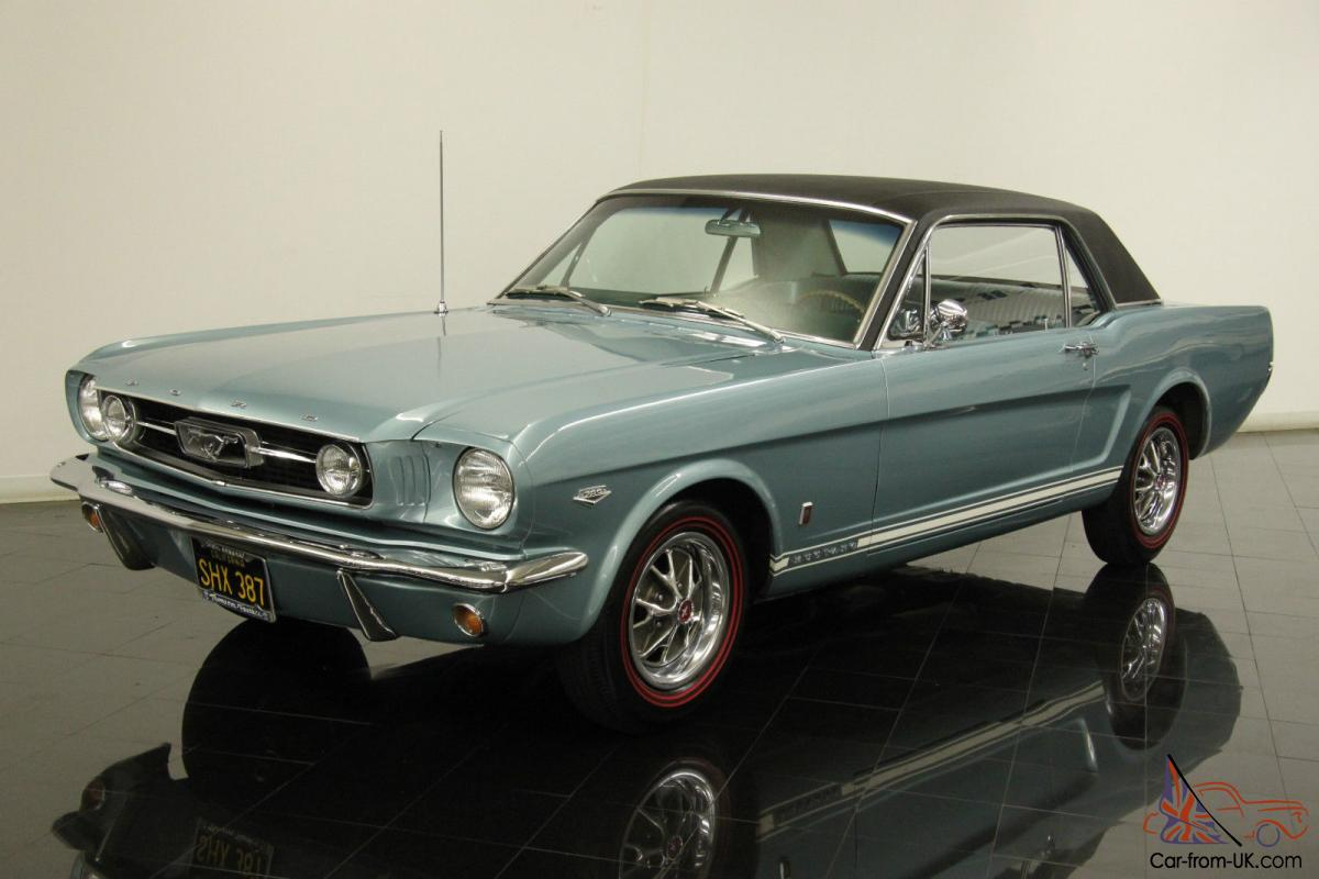 1966 Ford Mustang GT K code Coupe 289ci Hi Po 4 Speed ...