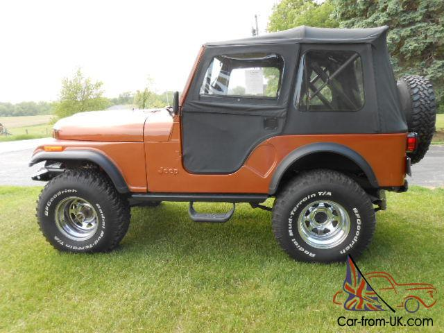 1982 jeep cj5 with corvette engine. Black Bedroom Furniture Sets. Home Design Ideas