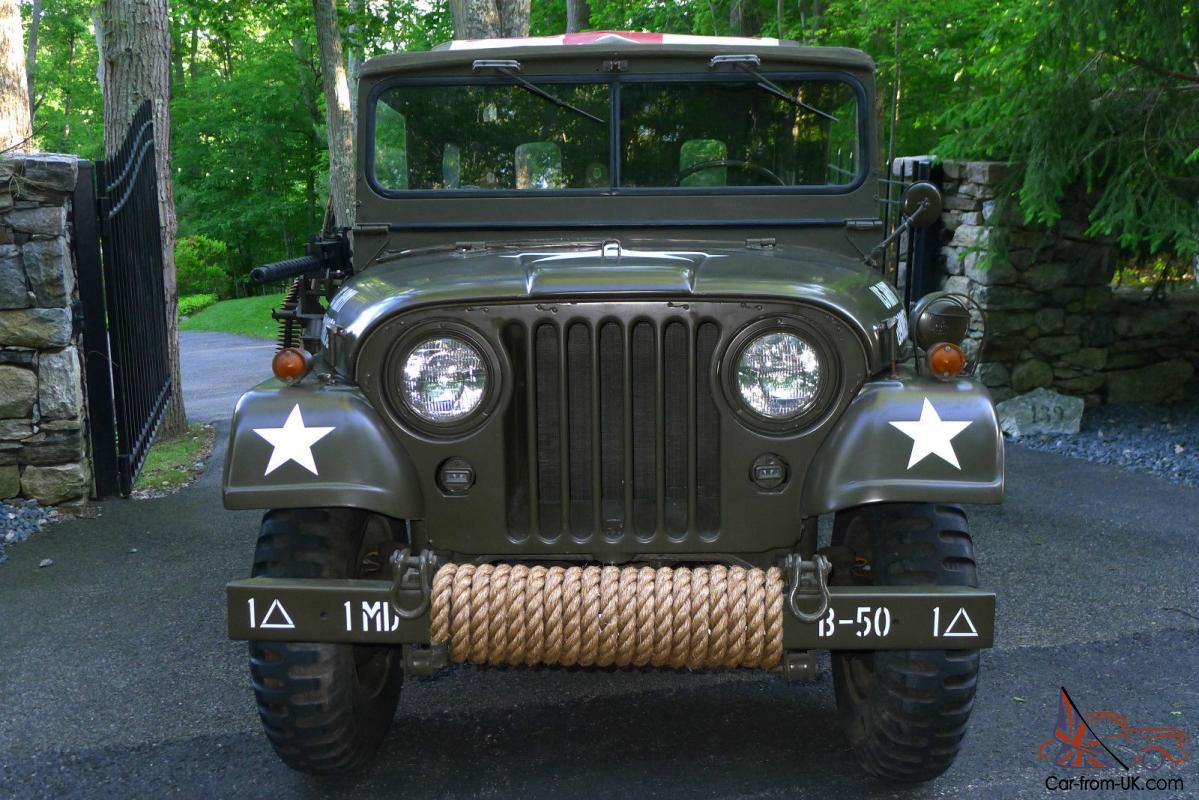 1955 willys m170 frontline ambulance jeep. Black Bedroom Furniture Sets. Home Design Ideas
