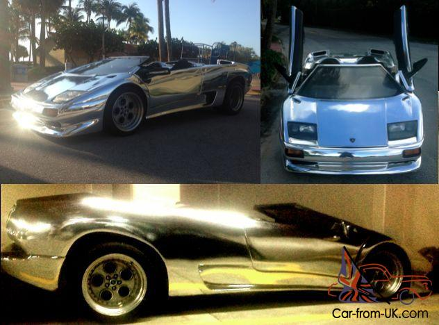 Lamborghini Diablo Exotic Replica Supercar Mirror Chrome No Reserve