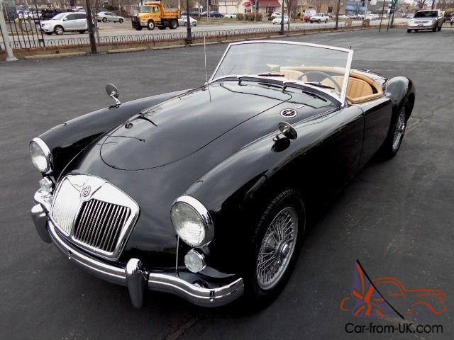1960 Mga 1600 Roadster Best Color Combination Fully Restored