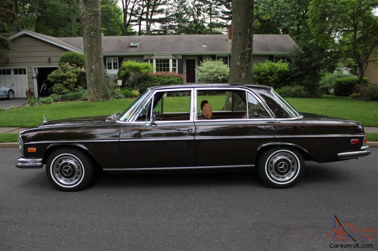 Mercedes benz 1972 300sel 4 5 for 1972 mercedes benz