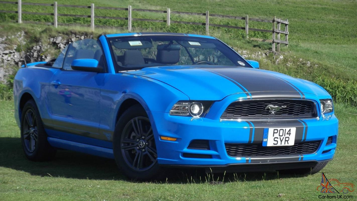 14 plate ford mustang 3 7 v6 auto convertible cabriolet soft top
