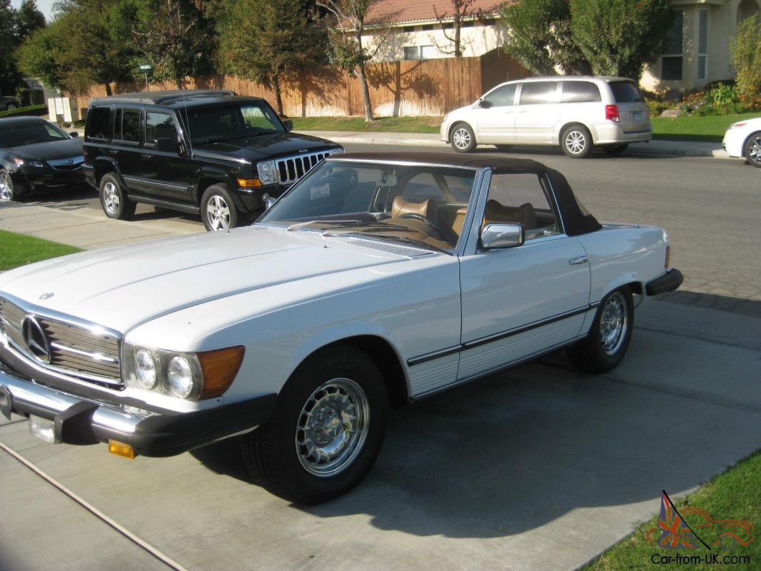 1978 Mercedes Benz 450sl Convertible