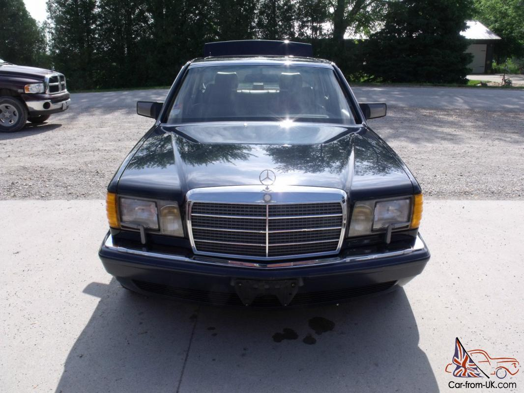 1989 mercedes benz 560sel fully loaded no rust for 1989 mercedes benz