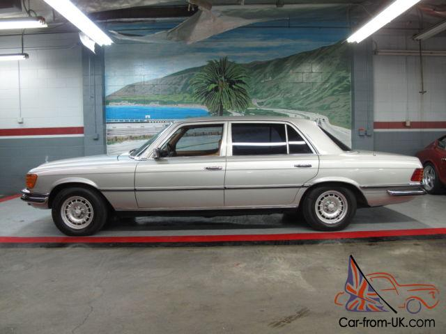 1977 Mercedes Benz 450 Sel 6 9 Litre Don 39 T Miss This One