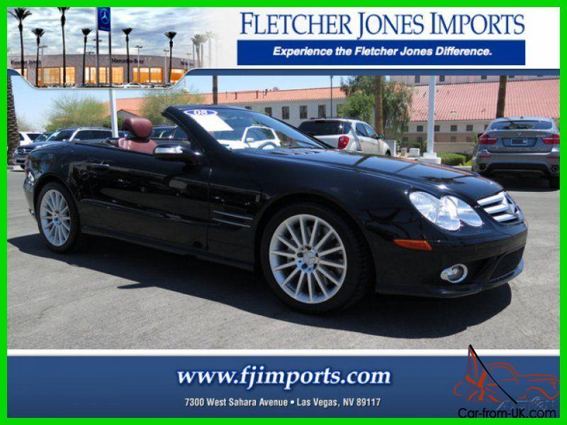 2008 sl550 used 5 5l v8 32v automatic rwd convertible lcd bose premium. Black Bedroom Furniture Sets. Home Design Ideas