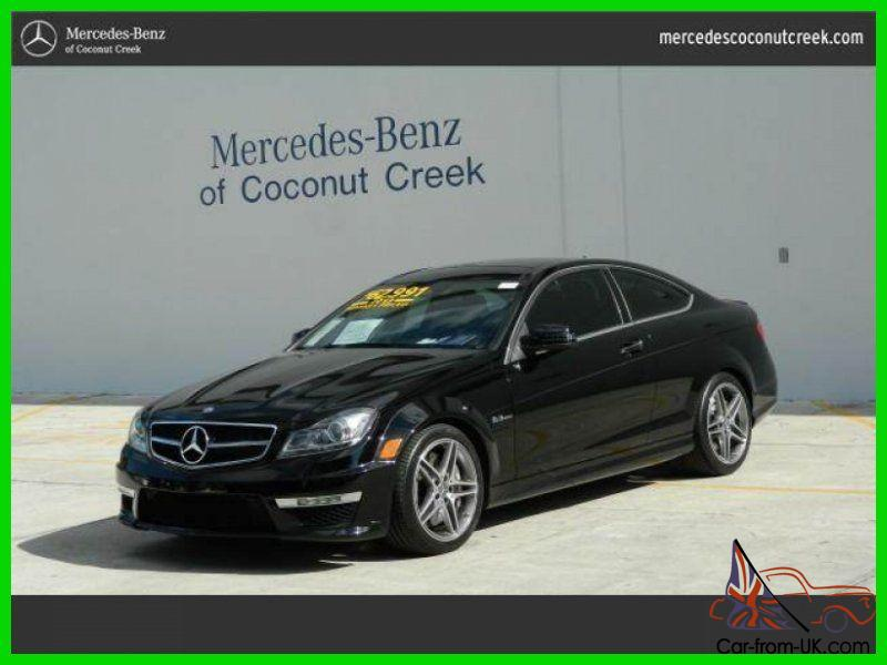 2013 c63 amg used certified 6 2l v8 32v automatic rear wheel drive coupe. Black Bedroom Furniture Sets. Home Design Ideas