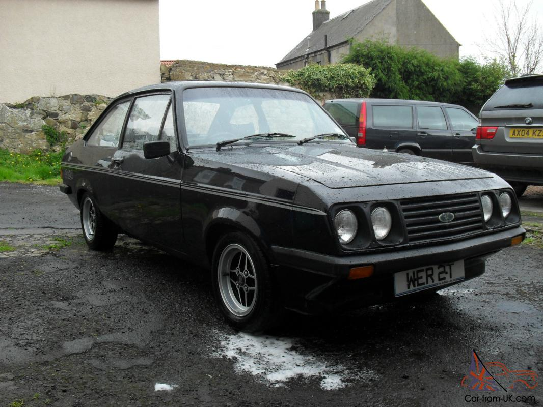 ford escort rs2000 mk2 black tax test 6 months may deal why. Black Bedroom Furniture Sets. Home Design Ideas