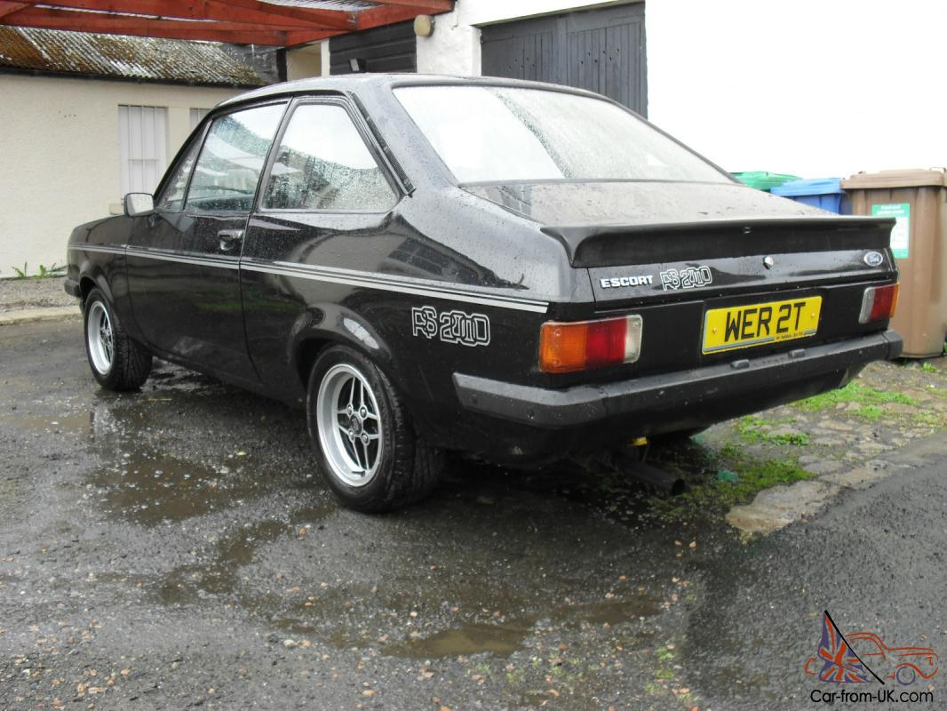 FORD ESCORT RS2000 MK2 BLACK TAX/TEST 6 MONTHS MAY DEAL WHY