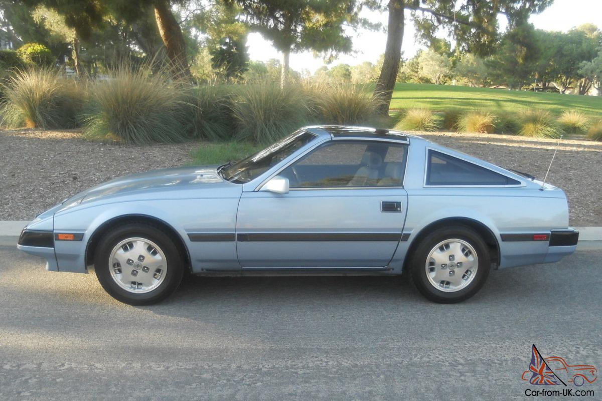 nissan 300zx: 5-speed, leather, glass t-tops, cold a/c, p/seat