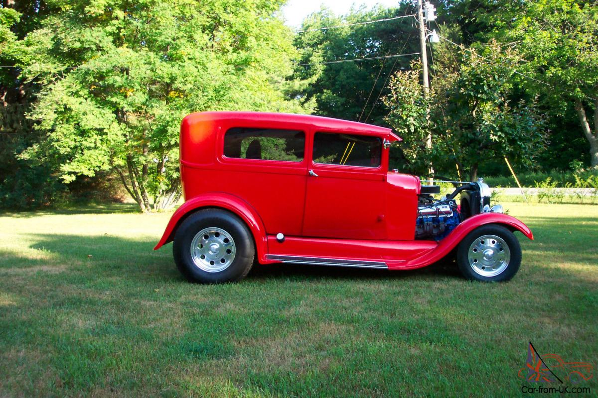1929 Ford Model A Tudor Hot Rod w/455 Olds chopped top