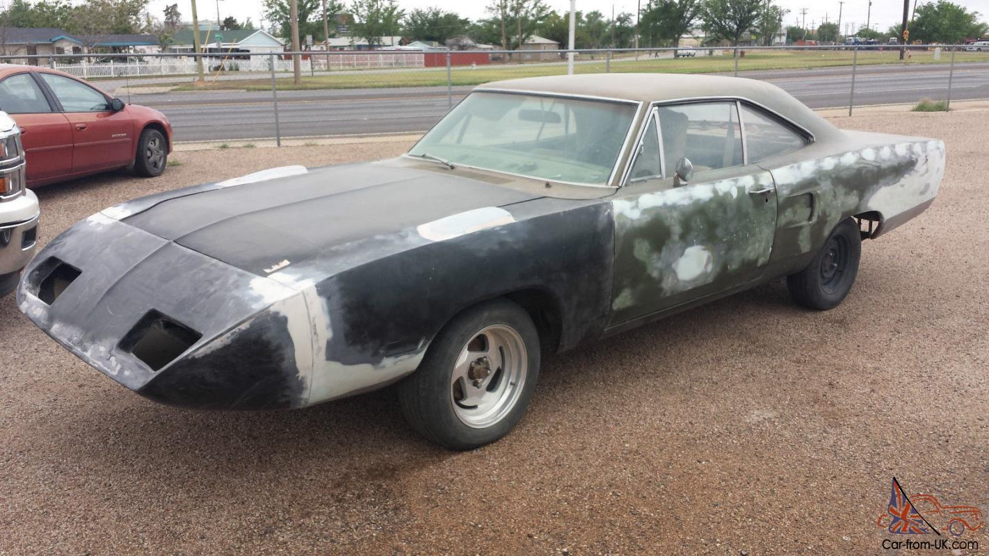 Plymouth Superbird Project-- Rust Free Nevada Car Doner