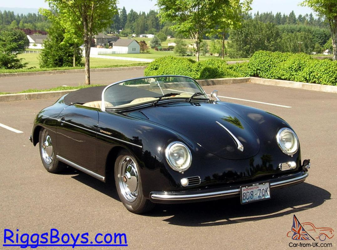 1957 Porsche 356a Speedster Replica Factory Built By