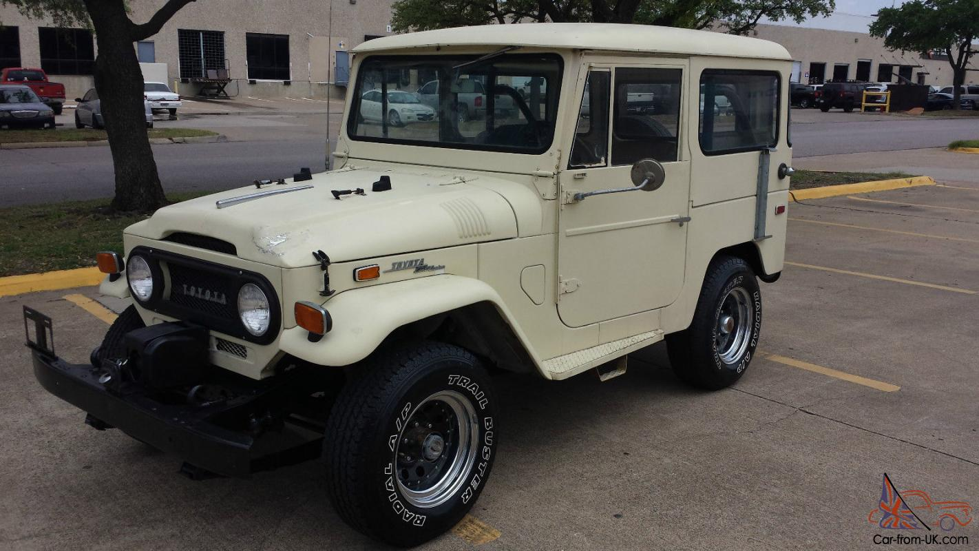 1971 Toyota FJ40 Land Cruiser e Owner 42k Documented