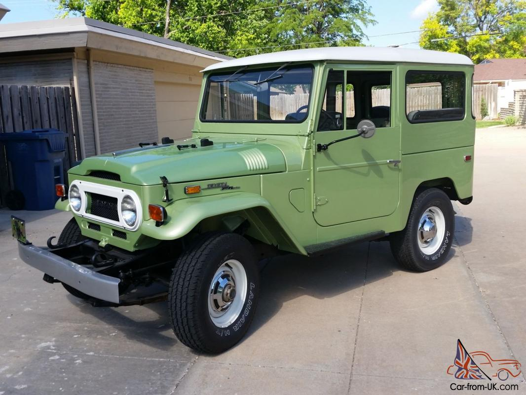 Amazing 1970 Toyota Land Cruiser Fj40 Show Quality Must See