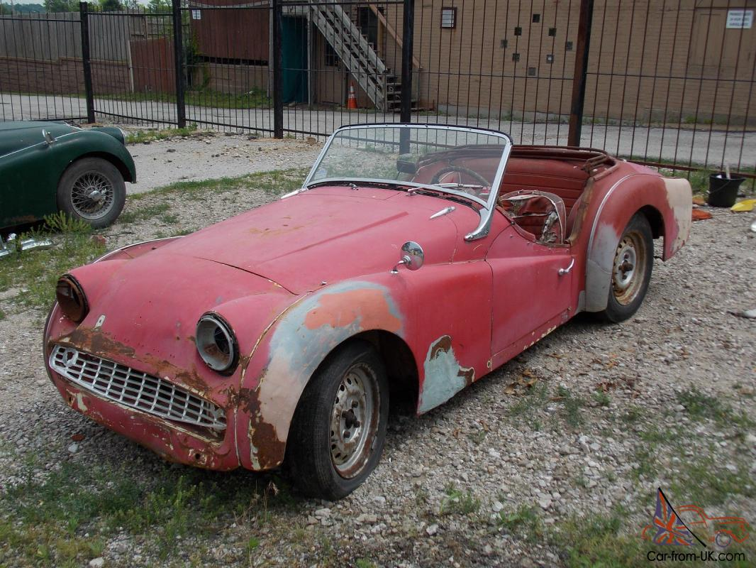 1960 triumph tr3 clear title global delivery nice car for Triumph motor cars for sale