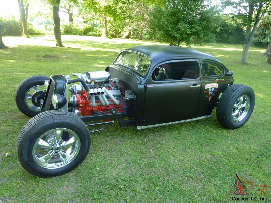 ratrod chopped top volkswagen bug 70 vw hotrod custom streetrod chevy motor. Black Bedroom Furniture Sets. Home Design Ideas