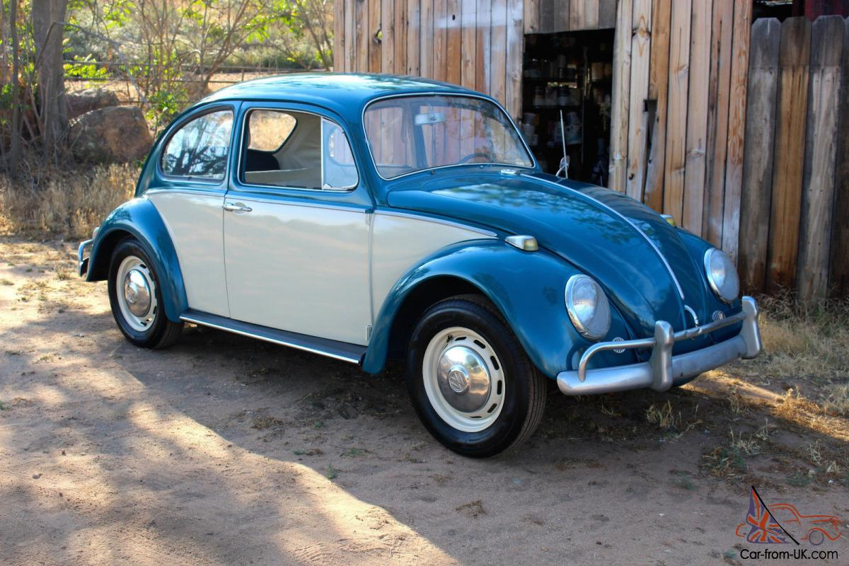 1966 VOLKSWAGEN BEETLE COUPE. one owner title
