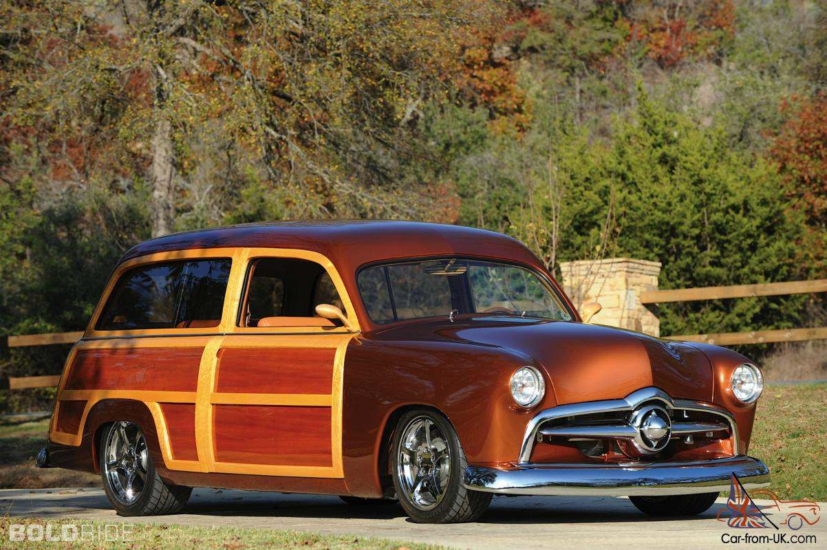 1954 Ford Country Squire Station Wagon Car Classics