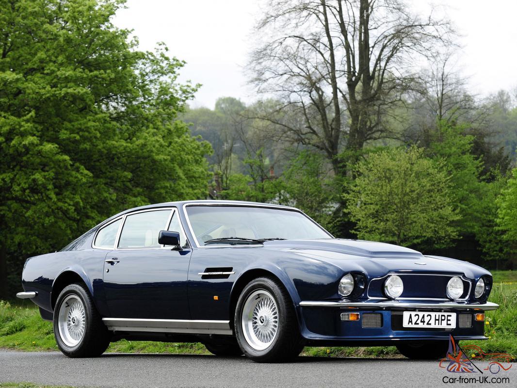 Aston Martin V8 Vantage Car Classics