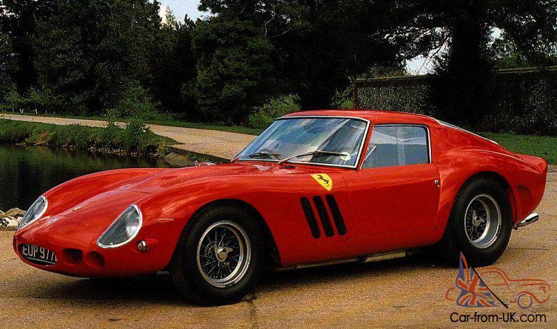 Ferrari 250 Gto Car Classics