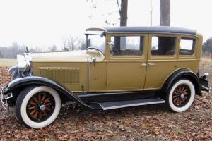 1928 Hupmobile 4-Door Sedan