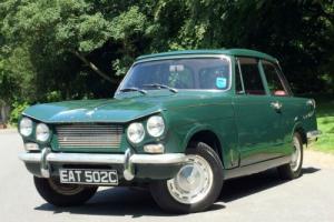 1965 Triumph VITESSE 1600 MK1 Hard Top - Conifer Green Photo