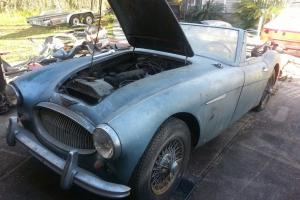 1963 AUSTIN HEALEY 3000 MKII RARE EUROPEAN SPEC CAR Photo