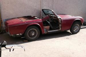 Triumph TR4 RHD 1963 With Heritage Certificate. Real Barn Find. For Restoration