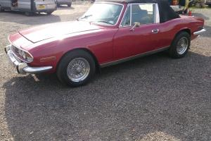 Triumph stag for light restoration