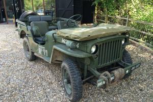 Hotchkiss Jeep 1962 not FORD WILLYS GPW WW2 WWII MB Photo