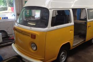VW T2 Camper Van, Late Bay Window