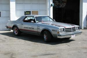 buick indy pace car