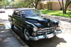 1948 cadillac convertible 48 smooth running driving licensed driven weekly NICE