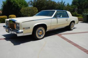 1984 Cadillac Eldorado Barrittz 1 owner 1076 Miles California car Perfect